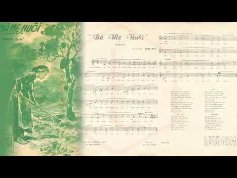 🎵 Bà Mẹ Nuôi (Phạm Duy) Thái Thanh Pre 1975 | Tờ Nhạc Xưa