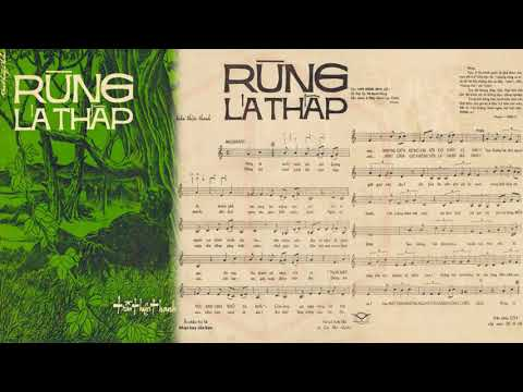 🎵 Rừng Lá Thấp (Trần Thiện Thanh) Thanh Thúy Pre 1975 | Tờ Nhạc Xưa