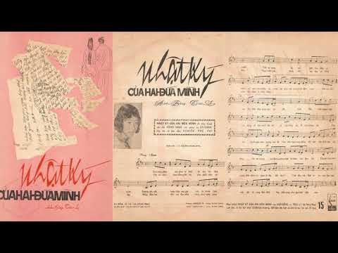 🎵 Nhật Ký Của Hai Đứa Mình (Anh Bằng, Trúc Ly) Hà Thanh Pre 1975 | Tờ Nhạc Xưa