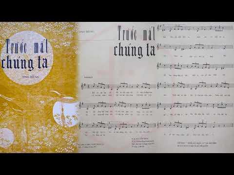 🎵 Trước Mắt Chúng Ta (Anh Bằng) Khánh Ly Pre 1975 | Tờ Nhạc Xưa