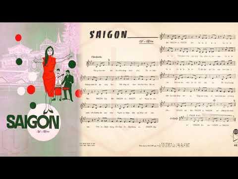 🎵 Sài Gòn (Y Vân) Hòa Tấu Pre 1975 | Tờ Nhạc Xưa