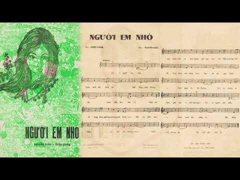 🎵 Người Em Nhỏ (Nguyễn Hiền, Thiệu Giang) Mỹ Thể Pre 1975 | Tờ Nhạc Xưa