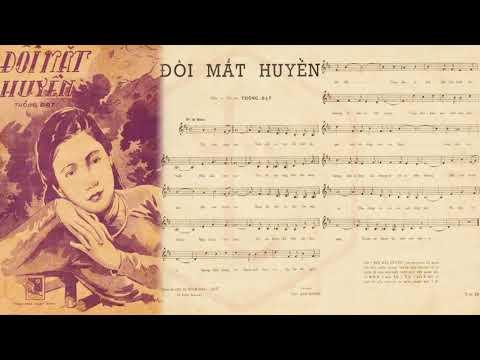 🎵 Đôi Mắt Huyền (Thông Đạt) Hà Thanh Pre 1975 | Tờ Nhạc Xưa