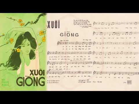 🎵 Xuôi Giòng (Tô Thùy Anh) Thanh Thúy Pre 1975 | Tờ Nhạc Xưa