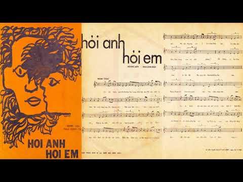 🎵 Hỏi Anh Hỏi Em (Hoàng Liên, Hoa Linh Bảo) Mạnh Quỳnh, Giáng Thu Pre 1975 | Tờ Nhạc Xưa