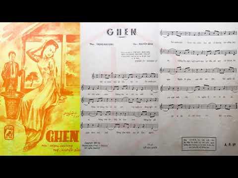 🎵 Ghen (Trọng Khương, Nguyễn Bính) Thái Thanh Pre 1975 | Tờ Nhạc Xưa