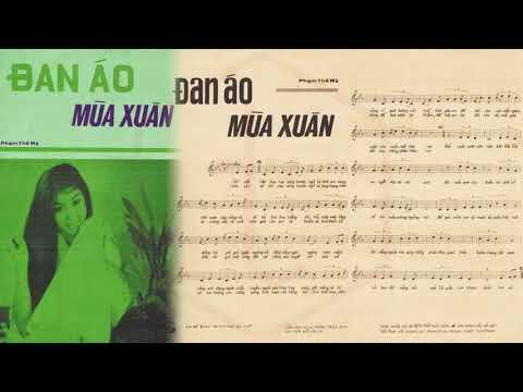 🎵 Đan Áo Mùa Xuân (Phạm Thế Mỹ) Hà Thanh Pre 1975 | Tờ Nhạc Xưa