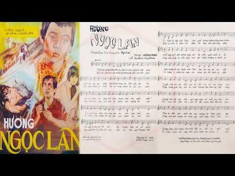 🎵 Hương Ngọc Lan (Hoàng Trọng) Thanh Lan Pre 1975 | Tờ Nhạc Xưa