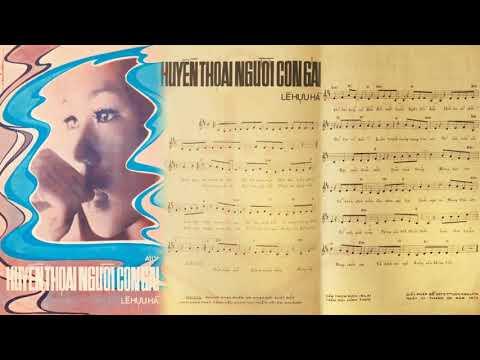 🎵 Huyền Thoại Người Con Gái (Lê Hựu Hà) Elvis Phương Pre 1975 | Tờ Nhạc Xưa