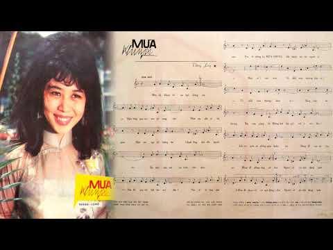 🎵 Mưa Khuya (Thăng Long) Nhật Thiên Lan Pre 1975 | Tờ Nhạc Xưa