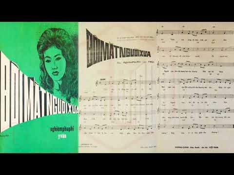 🎵 Đôi Mắt Người Xưa (Nghiêm Phú Phi, Y Vân) Hoàng Oanh Pre 1975 | Tờ Nhạc Xưa