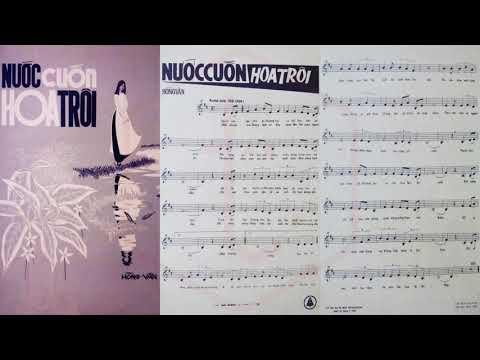 🎵 Nước Cuốn Hoa Trôi (Hồng Vân) Giao Linh Pre 1975 | Tờ Nhạc Xưa