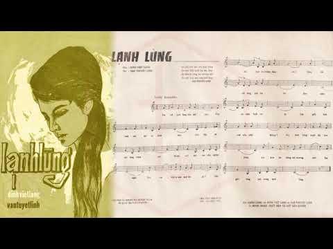 🎵 Lạnh Lùng (Đinh Việt Lang, Vạn Tuyết Linh) Thanh Thúy Pre 1975 | Tờ Nhạc Xưa