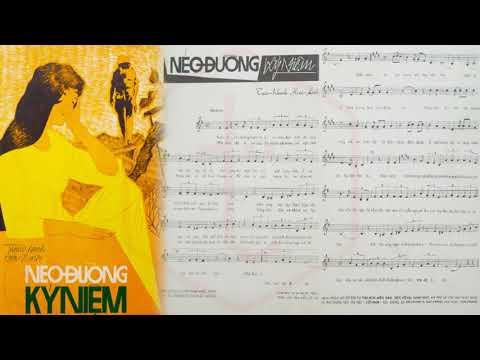 🎵 Nẻo Đường Kỷ Niệm (Hoài Linh, Tuấn Khanh) Thanh Tuyền Pre 1975 | Tờ Nhạc Xưa