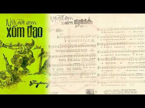 🎵 Người Em Xóm Đạo (Bằng Giang) Duy Khánh Pre 1975 | Tờ Nhạc Xưa