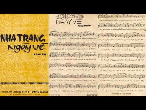 🎵 Nha Trang Ngày Về (Phạm Duy) Khánh Ly Pre 1975 | Tờ Nhạc Xưa