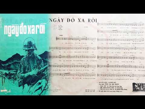 🎵 Ngày Đó Xa Rồi (Tú Nhi) Chế Linh Pre 1975 | Tờ Nhạc Xưa