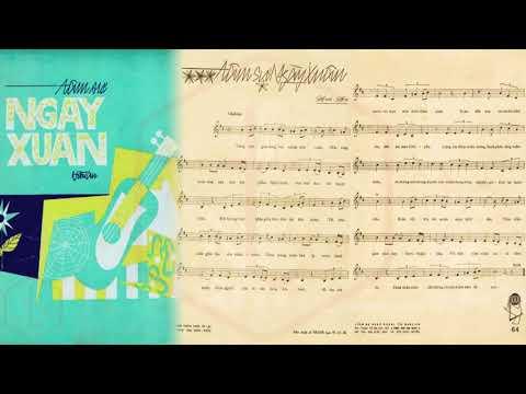 🎵 Tâm Sự Ngày Xuân (Hoài An) Sơn Ca Pre 1975 | Tờ Nhạc Xưa