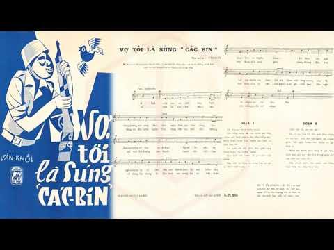 🎵 Vợ Tôi Là Súng Các Bin (Văn Khôi) Thái Thanh Pre 1975 | Tờ Nhạc Xưa