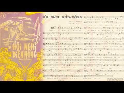 🎵 Hội Nghị Diên Hồng (Lưu Hữu Phước) Trường Hải Pre 1975 | Tờ Nhạc Xưa