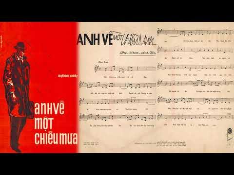 🎵 Anh Về Một Chiều Mưa (Duy Khánh, Anh Thy) Khánh Ly Pre 1975 | Tờ Nhạc Xưa