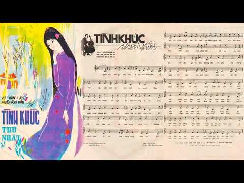🎵 Tình Khúc Thứ Nhất (Vũ Thành An) Lệ Thu Pre 1975 | Tờ Nhạc Xưa