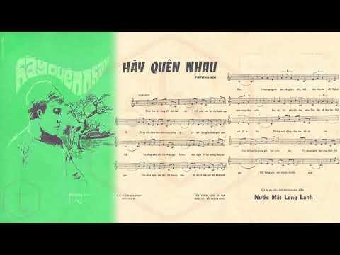 🎵 Hãy Quên Em (Phương Kim) Nhật Thiên Lan Pre 1975 | Tờ Nhạc Xưa