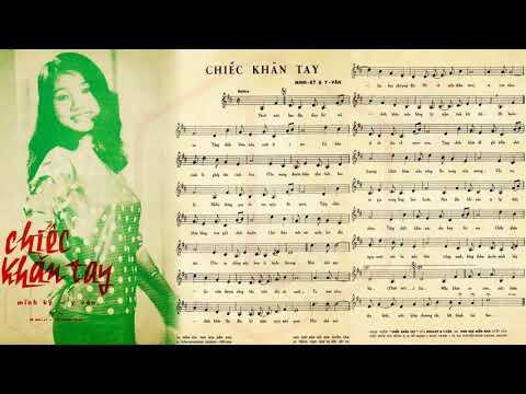 🎵 Chiếc Khăn Tay (Minh Kỳ, Y Vân) Trúc Mai Pre 1975 | Tờ Nhạc Xưa