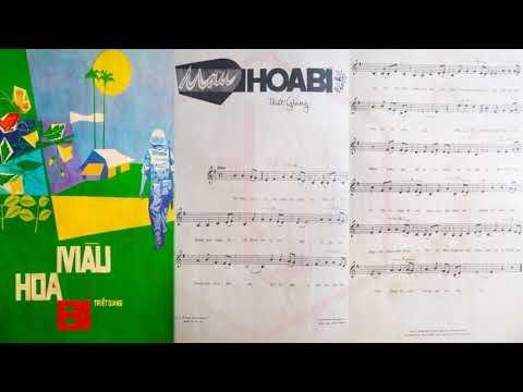 🎵 Màu Hoa Bí (Triết Giang) Thanh Tuyền Pre 1975 | Tờ Nhạc Xưa