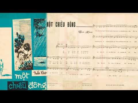 🎵 Một Chiều Đông (Tuấn Khanh) Sĩ Phú Pre 1975 | Tờ Nhạc Xưa