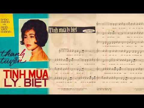 🎵 Tình Mùa Ly Biệt (Anh Việt Thanh, Trúc Minh) Thanh Tuyền Pre 1975 | Tờ Nhạc Xưa