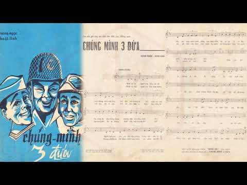 🎵 Chúng Mình 3 Đứa (Song Ngọc, Hoài Linh) Nhật Trường, Như Thủy Pre 1975 | Tờ Nhạc Xưa