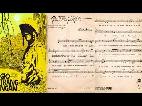 🎵 Gió Trăng Ngàn (Tân Cổ, Hoàng Nguyên, Quế Chi) Chí Tâm, Lệ Thu Pre 1975 | Tờ Nhạc Xưa