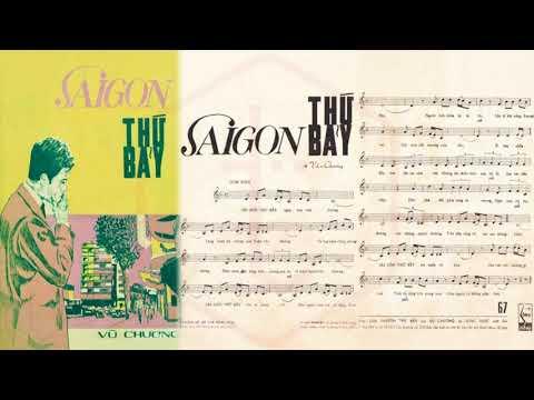 🎵 Sài Gòn Thứ Bảy (Vũ Chương) Đức Minh Pre 1975 | Tờ Nhạc Xưa