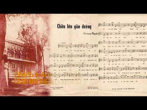 🎵 Chiều Bên Giáo Đường (Lê Trọng Nguyễn) Hà Thanh Pre 1975 | Tờ Nhạc Xưa