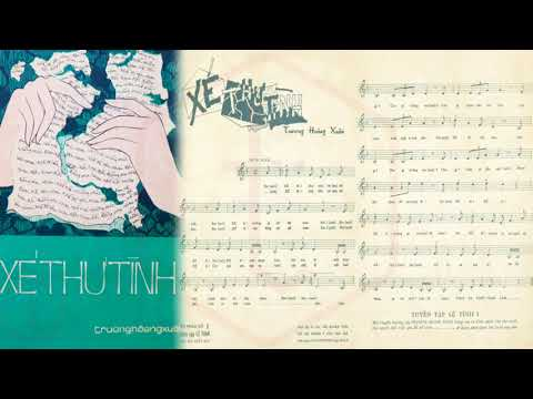 🎵 Xé Thư Tình (Trương Hoàng Xuân) Elvis Phương Pre 1975 | Tờ Nhạc Xưa