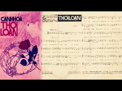 🎵 Cánh Hoa Thời Loạn (Y Vân) Trúc Mai Pre 1975 | Tờ Nhạc Xưa