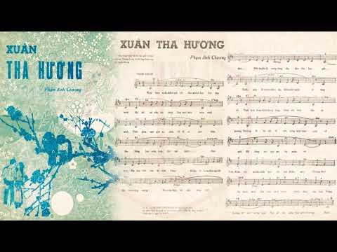 🎵 Xuân Tha Hương (Phạm Đình Chương) Duy Trác Pre 1975 | Tờ Nhạc Xưa