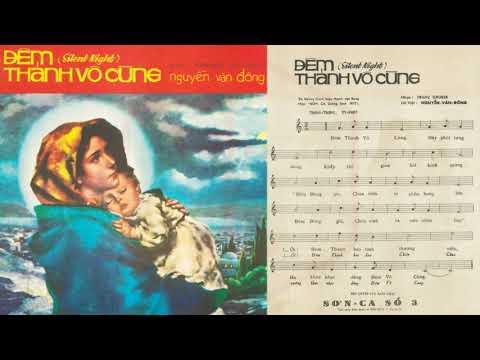 🎵 Đêm Thánh Vô Cùng (Nguyễn Văn Đông) Hoàng Oanh Pre 1975 | Tờ Nhạc Xưa