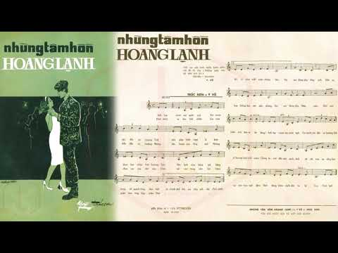🎵 Những Tâm Hồn Hoang Lạnh (Y Vũ, Trúc Sơn) Thanh Thúy Pre 1975 | Tờ Nhạc Xưa