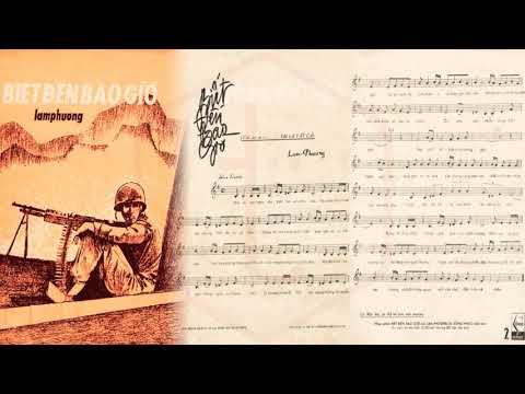 🎵 Biết Đến Bao Giờ (Lam Phương) Minh Hiếu Pre 1975 | Tờ Nhạc Xưa
