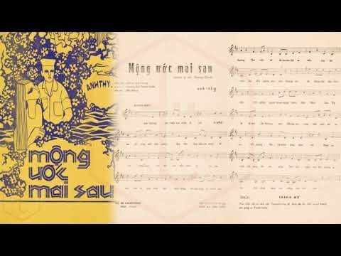 🎵 Mộng Ước Mai Sau (Anh Thy) Giao Linh Pre 1975 | Tờ Nhạc Xưa