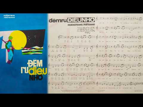 🎵 Đêm Ru Điệu Nhớ (Hoàng Trang, Triết Giang) Giao Linh Pre 1975 | Tờ Nhạc Xưa