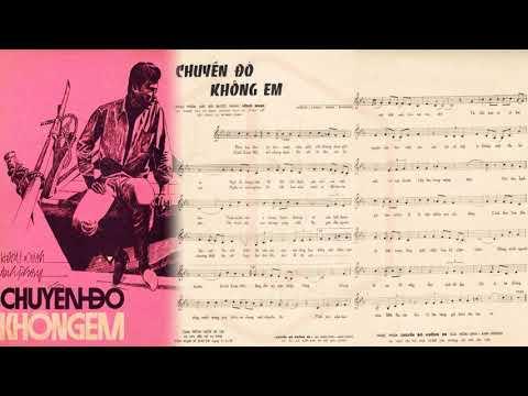 🎵 Chuyến Đò Không Em (Hoài Linh, Anh Phong) Hoàng Oanh Pre 1975 | Tờ Nhạc Xưa