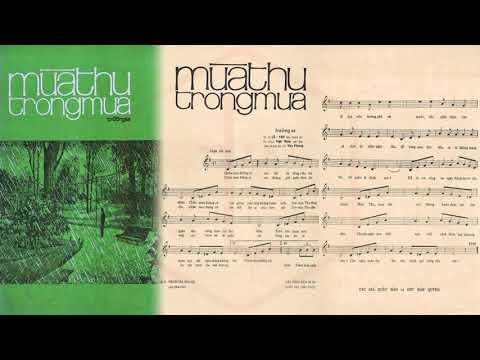 🎵 Mùa Thu Trong Mưa (Trường Sa) Ngọc Long Pre 1975 | Tờ Nhạc Xưa