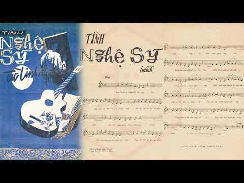 🎵 Tình Nghệ Sĩ (Đoàn Chuẩn, Từ Linh) Ngọc Long Pre 1975 | Tờ Nhạc Xưa
