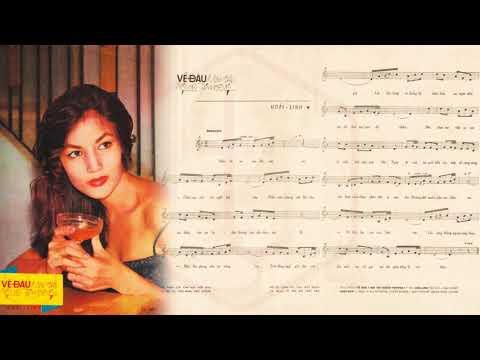 🎵 Về Đâu Mái Tóc Người Thương (Hoài Linh) Hoàng Oanh Pre 1975 | Tờ Nhạc Xưa