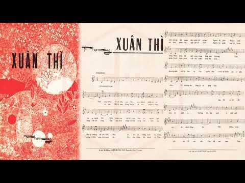 🎵 Xuân Thì (Phạm Duy) Julie Quang Pre 1975 | Tờ Nhạc Xưa