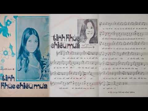 🎵 Tình Khúc Chiều Mưa (Nguyễn Ánh 9) The Cat's Trio Pre 1975 | Tờ Nhạc Xưa