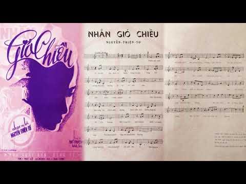 🎵 Nhắn Gió Chiều (Nguyễn Thiện Tơ) Mạnh Phát Pre 1975 | Tờ Nhạc Xưa